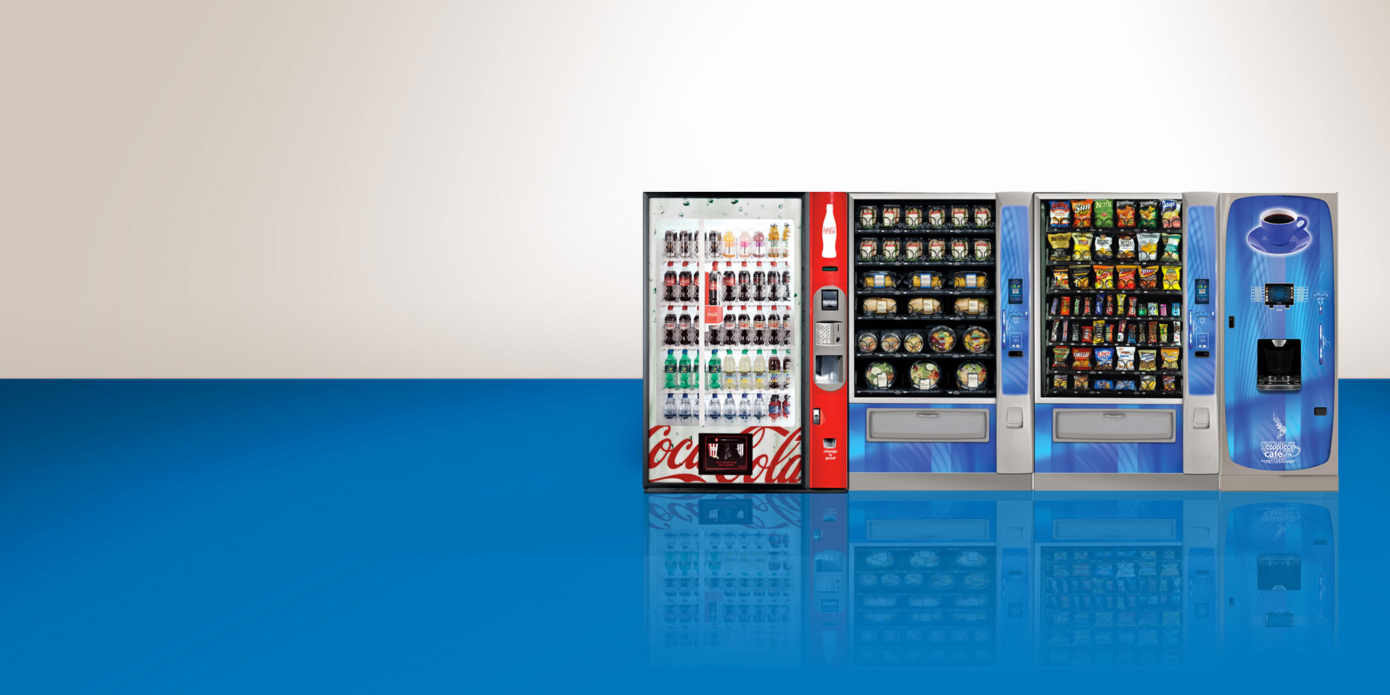 Vending machine service in Boston, Massachusetts and Rhode Island